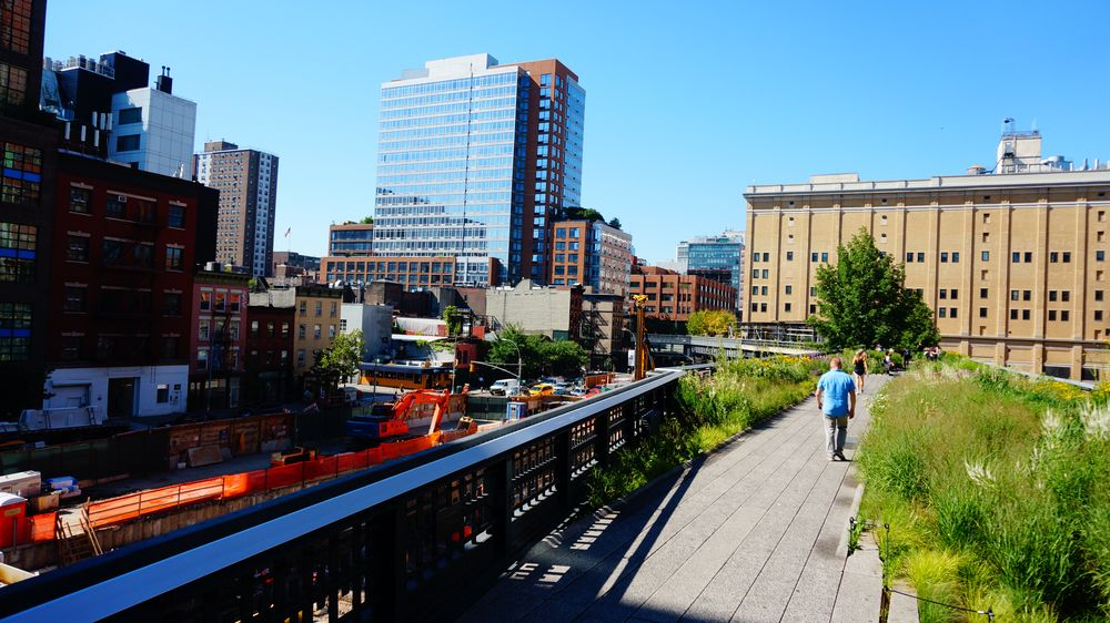 High Line Park, Whitney museum, Court square Diner, Socrates Sculpture Park & No Noguchi