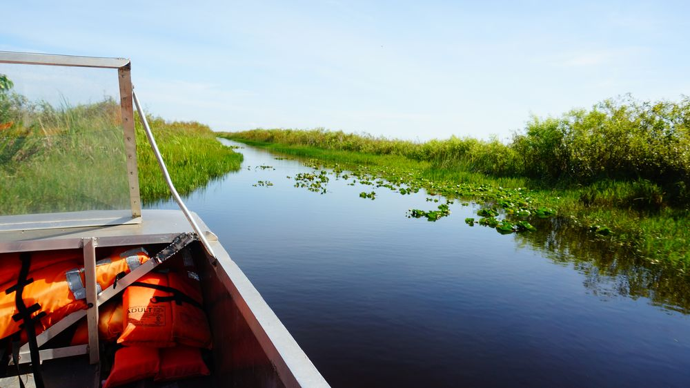 Cape Florida lighthouse, Everglades Park & Airboat