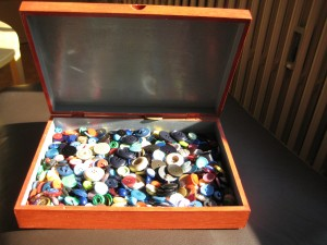 boîte à boutons