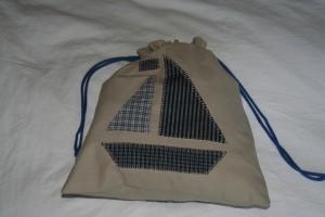 sac à doudou côté bateau