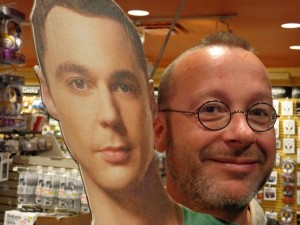 Sheldon et son ami Ben