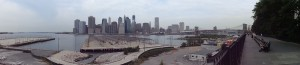 Manhattan depuis la Brooklyn Heights Promenade