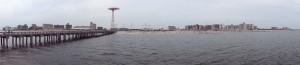 La plage de Coney Island