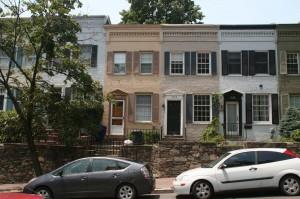 Des habitations cossues de Georgetown, la banlieue chic de DC