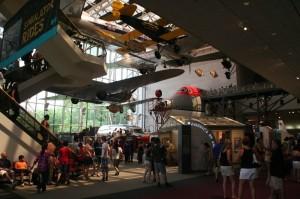 Il y avait un monde fou dans ce musée...