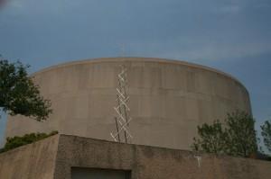 Le musée d'Art contemporain, le Hirshorn museum